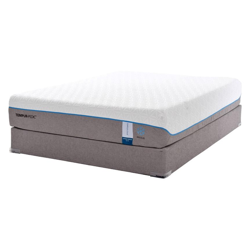 Cloud Supreme Breeze Memory Foam Twin XL Mattress Set w/Low Foundation by Tempur-Pedic  alternate image, 3 of 5 images.