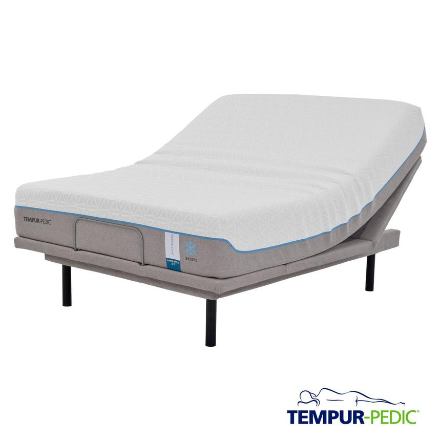 Cloud Supreme Breeze Memory Foam Twin XL Mattress Set  main image, 1 of 5 images.