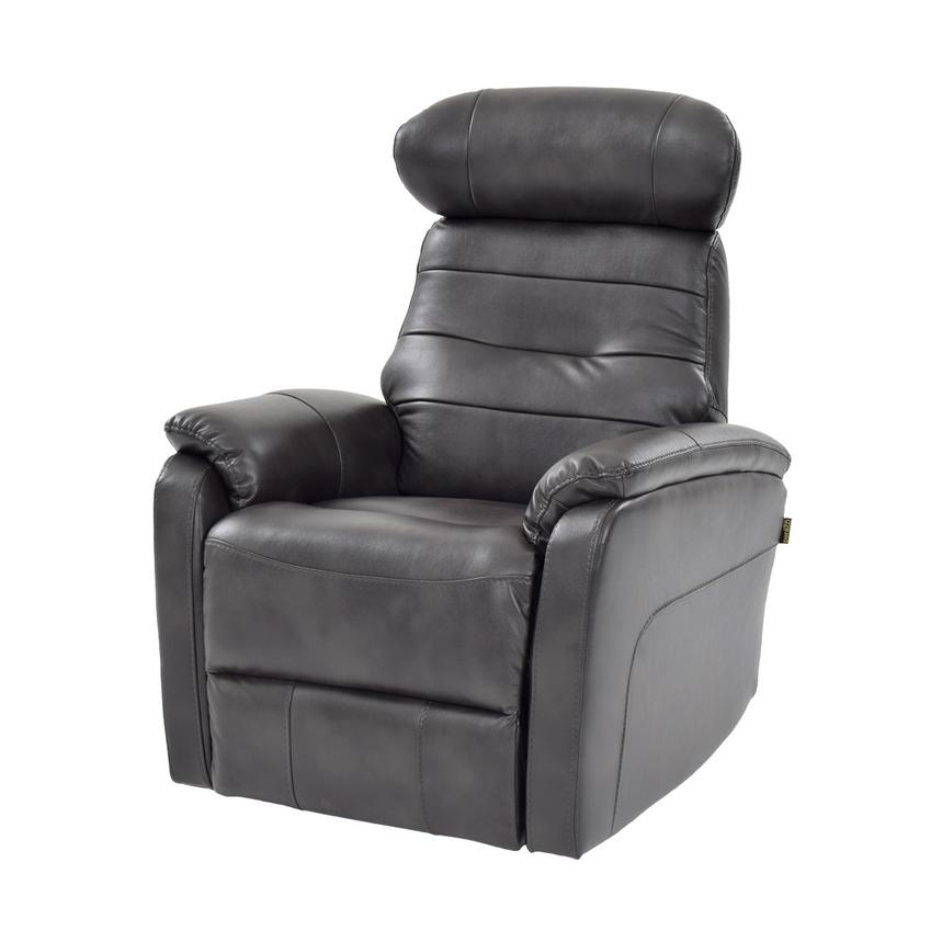Lui Gray Power Motion Recliner  main image, 1 of 8 images.