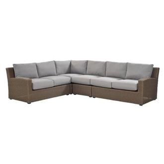 Ares Sofa w/Armless Chair
