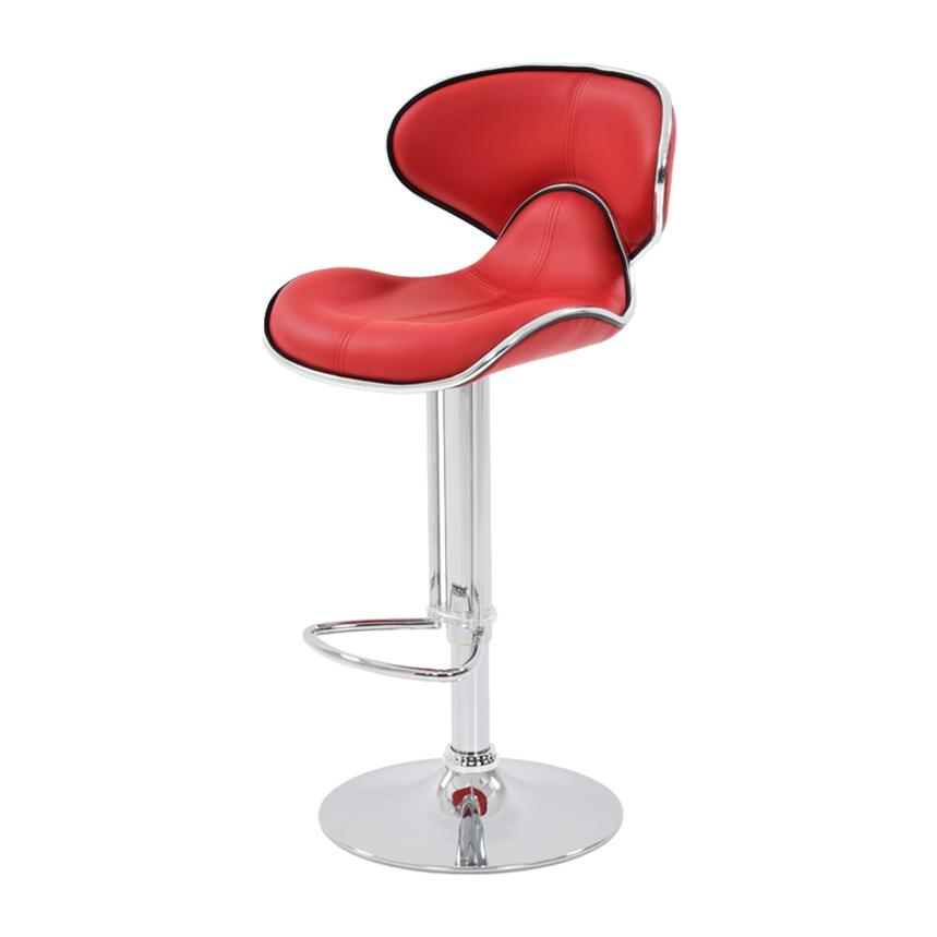 Inspirational Red Adjustable Bar Stools
