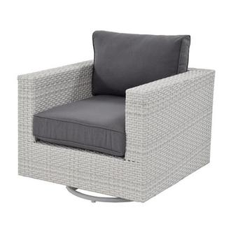 Ft.Meyers Gray Swivel Chair