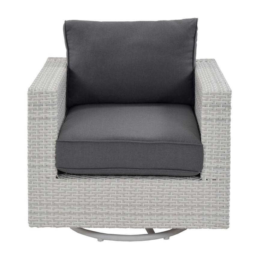 Ft.Meyers Gray Swivel Chair Alternate Image, 2 Of 7 Images.