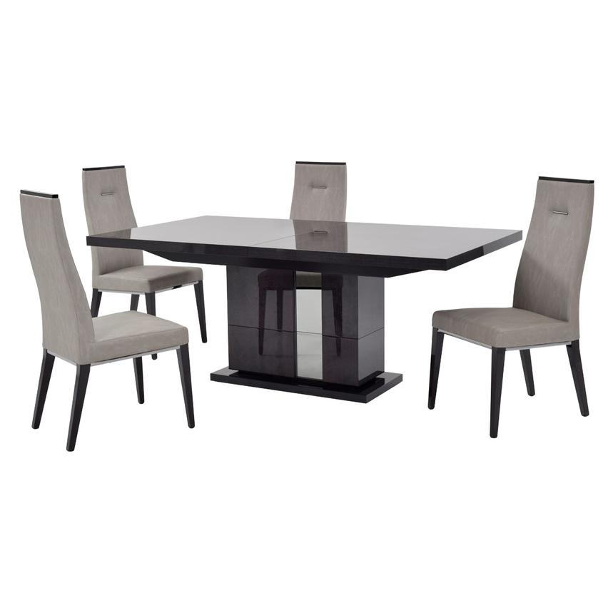 Heritage 5 Piece Formal Dining Set Made In Italy Main Image 1 Of 14