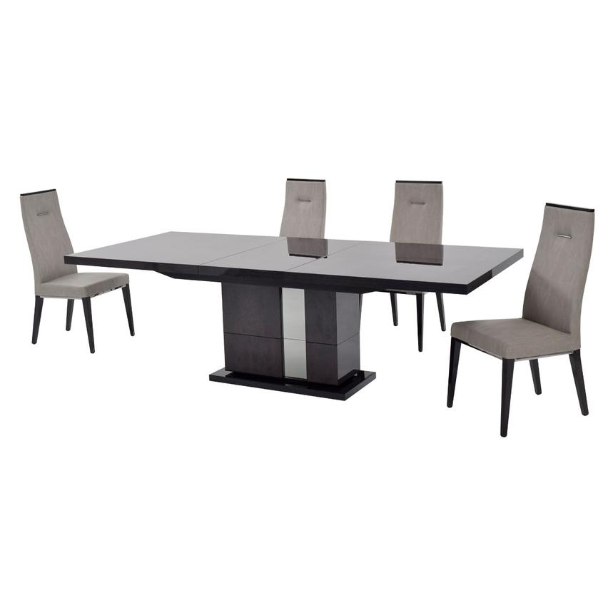 Heritage 5-Piece Formal Dining Set Made in Italy  alternate image, 2 of 13 images.