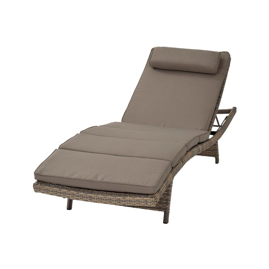 Neilina Brown Chaise Lounge  main image, 1 of 7 images.