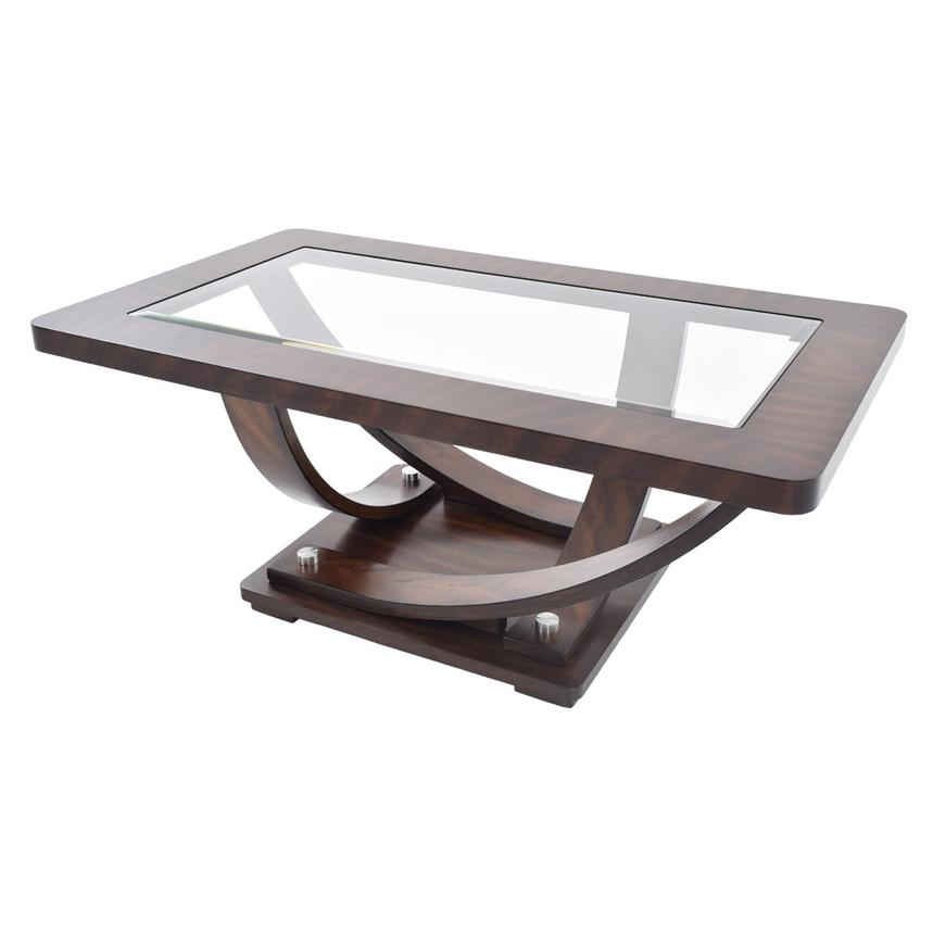 Pavillion Coffee Table w/Casters  main image, 1 of 4 images.