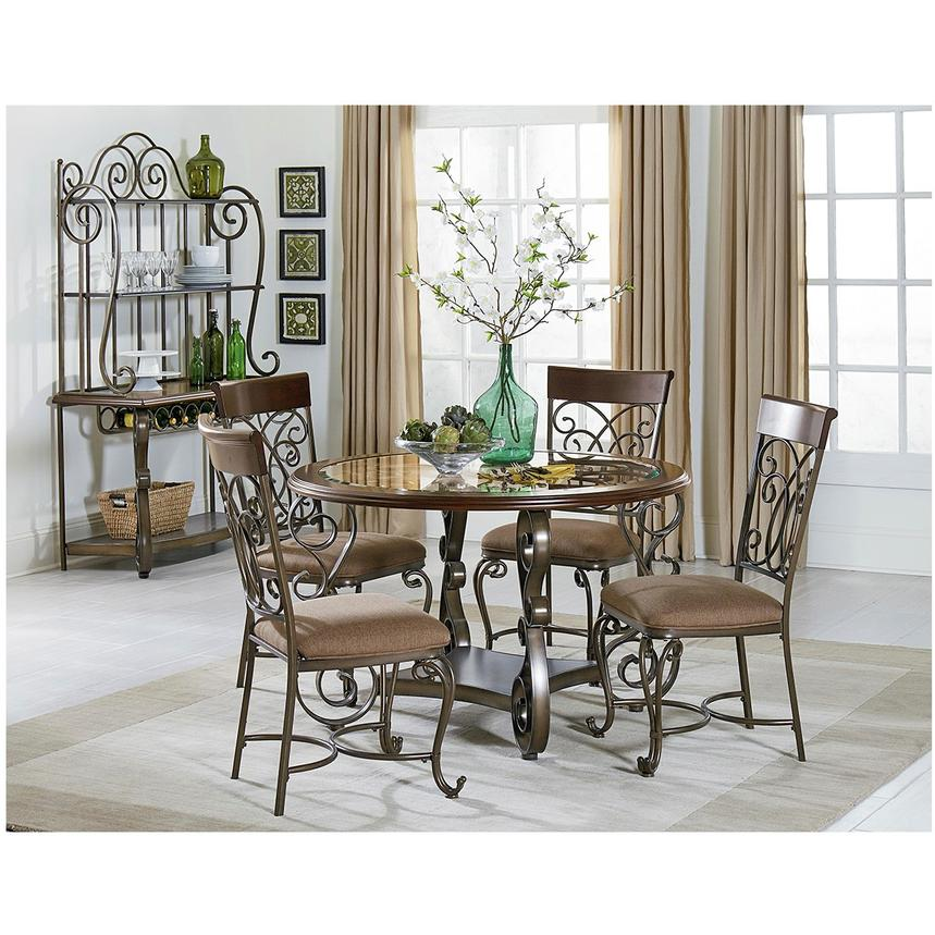 Bombay Round Dining Table | El Dorado Furniture