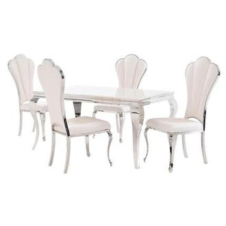 Lizbon/Raegan 5-Piece Formal Dining Set