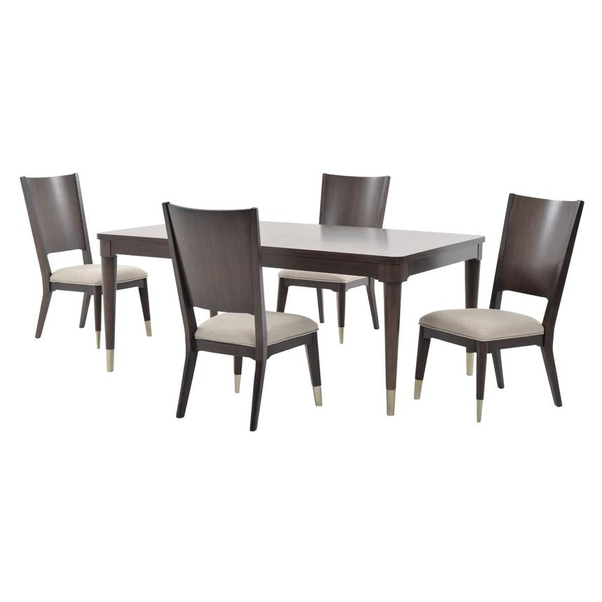 Rachael Rays Soho 5 Piece Formal Dining Set Main Image 1 Of 15 Images