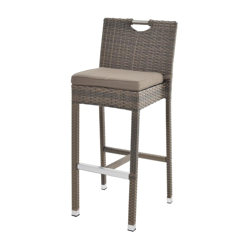 Neilina Brown 3-Piece Patio Set w/ Ice bucket  alternate image, 7 of 10 images.