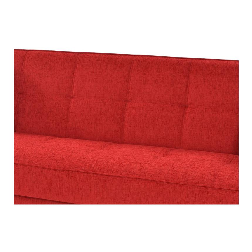 Betsy Red Futon w/Storage  alternate image, 6 of 8 images.