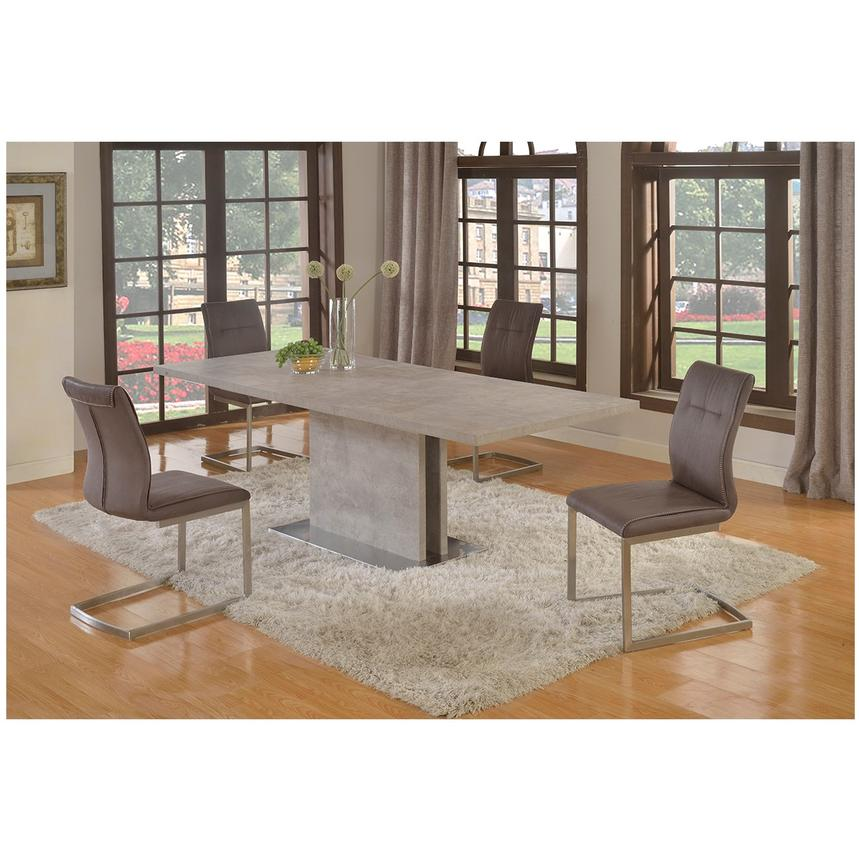 Kalinda 5-Piece Formal Dining Set  alternate image, 2 of 15 images.