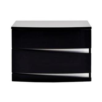 Brighton Black Nightstand