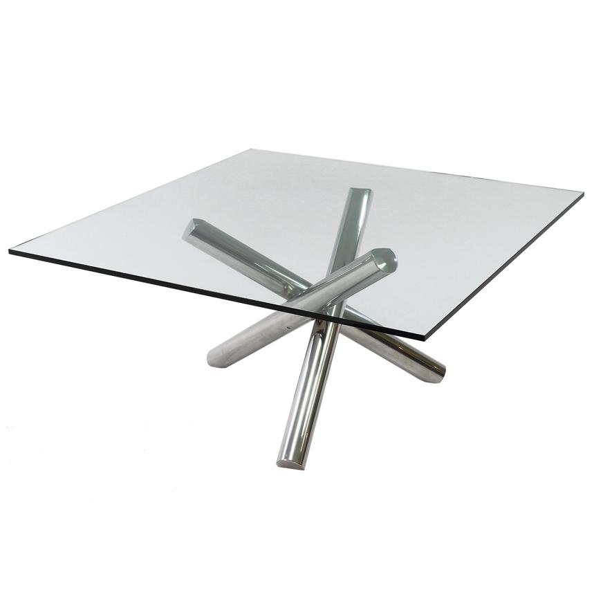 Gotham Square Dining Table  main image, 1 of 4 images.