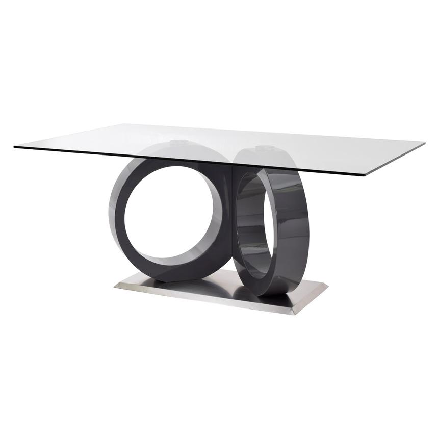 Stop 36 Gray Rectangular Dining Table  main image, 1 of 7 images.