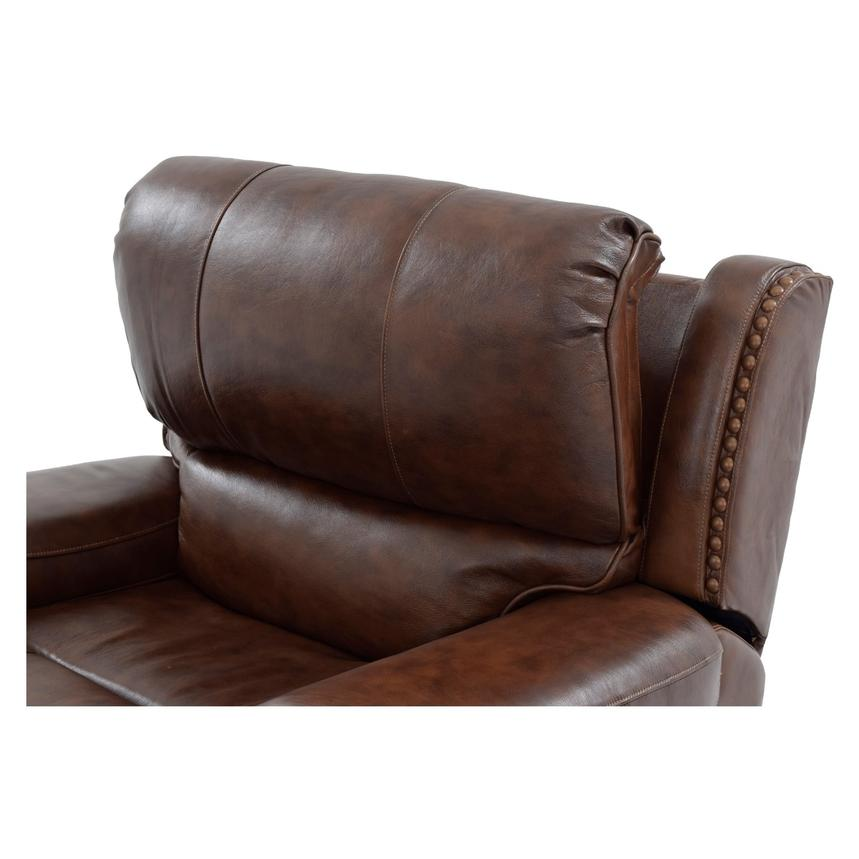 Durham Power Motion Leather Recliner  alternate image, 6 of 9 images.
