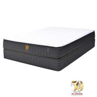 50th Anniversary Firm Queen Mattress Set w/Regular Foundation by Carlo Perazzi