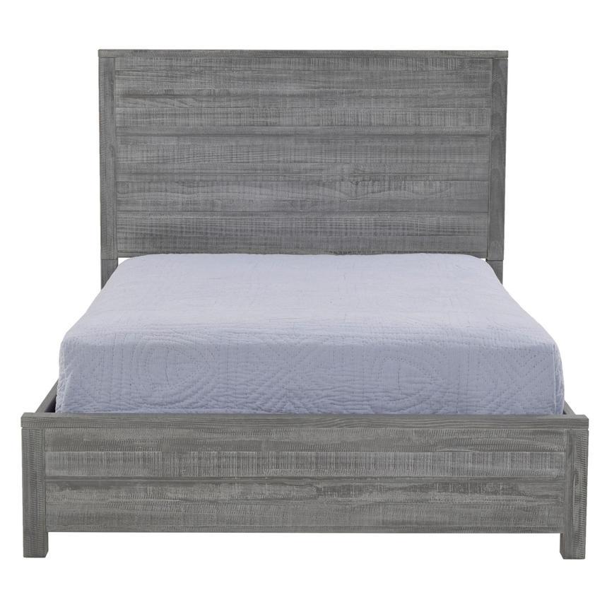 Marvelous Montauk Gray Full Bed Made In Brazil Alternate Image, 2 Of 5 Images.
