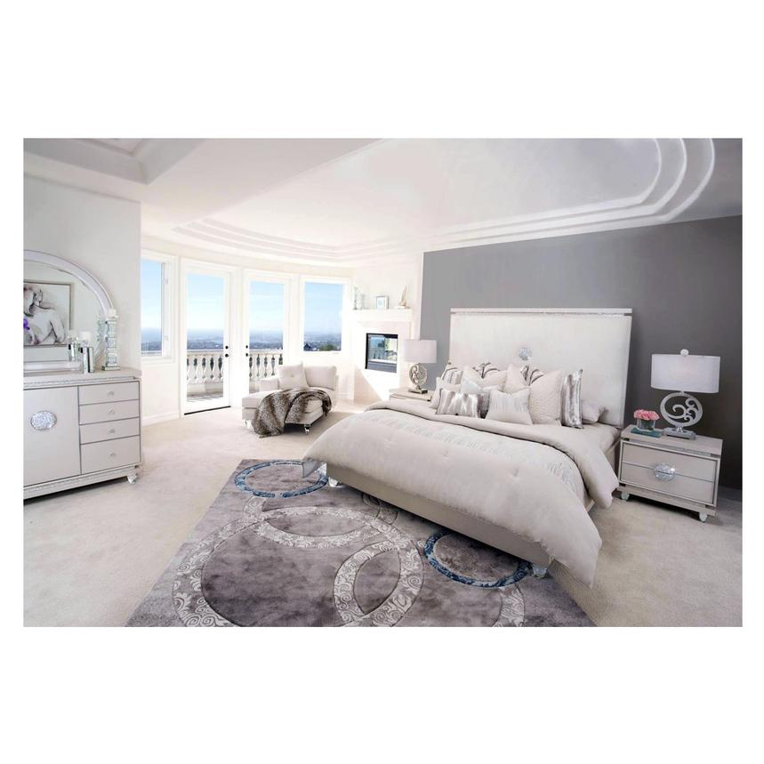 furniture bed king poster dorado leahlyn fancy with sets el bedroom