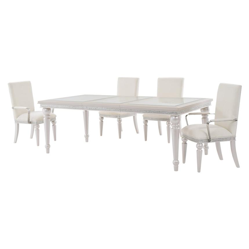 Glimmering Heights 5-Piece Formal Dining Set | El Dorado Furniture
