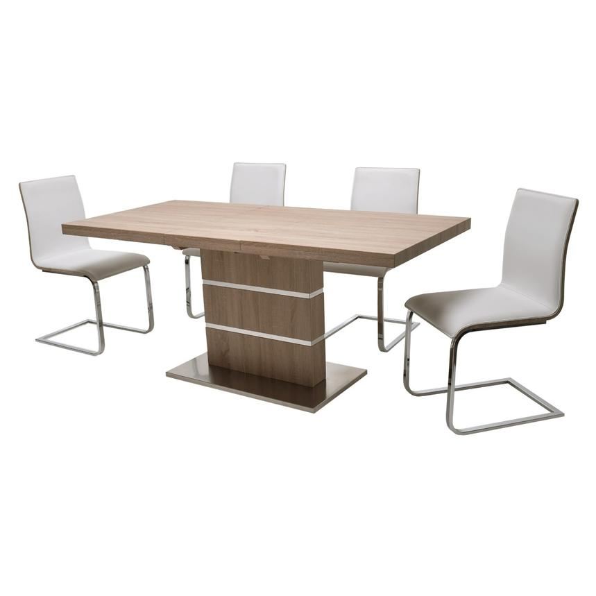 Lorange/Solimar 5-Piece Casual Dining Set  alternate image, 2 of 9 images.