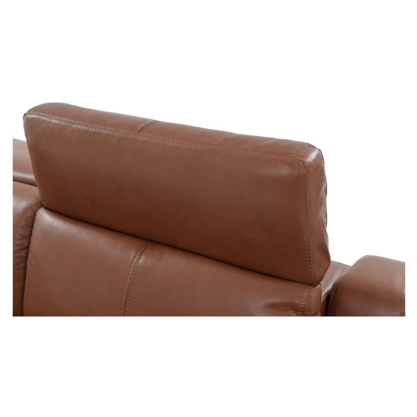 Gian Marco Tan Power Motion Leather Sofa  alternate image, 6 of 8 images.