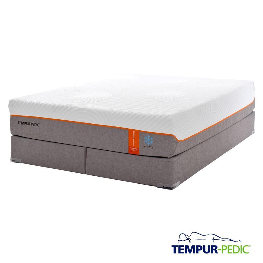 Contour Elite Breeze Memory Foam King Mattress Set W Regular Foundation By Tempur Pedic