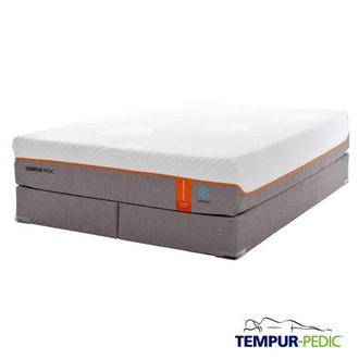 Contour Elite Breeze Memory Foam King Mattress Set w/Low Foundation by Tempur-Pedic
