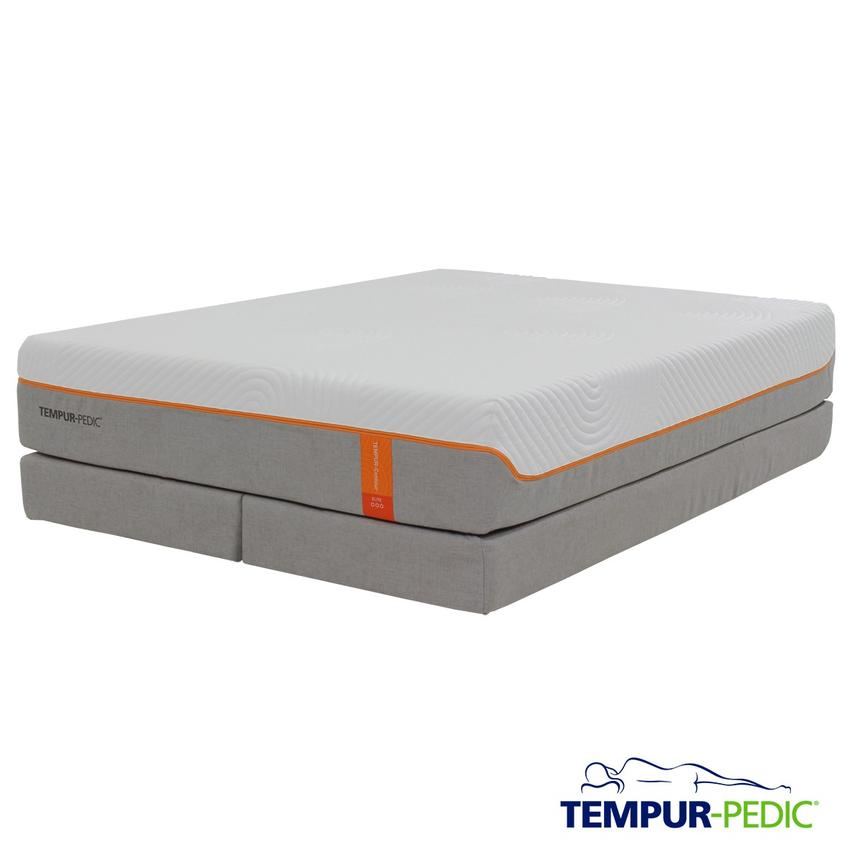 Contour Supreme Memory Foam King Mattress Set w/Low Foundation by Tempur-Pedic  main image, 1 of 5 images.