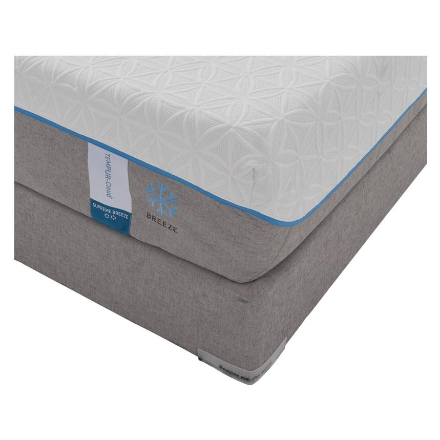 Cloud Supreme Breeze Memory Foam King Mattress Set w/Low Foundation by Tempur-Pedic  alternate image, 2 of 5 images.