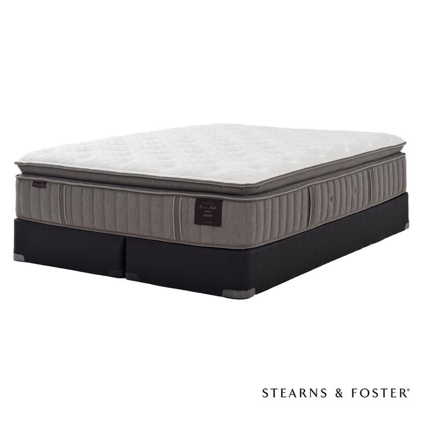 Scarborough V King Mattress Set w/Low Foundation by Stearns & Foster  main image, 1 of 5 images.