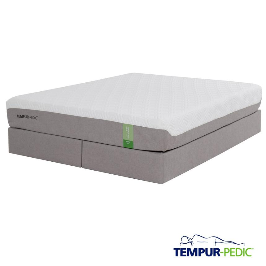 Tempur-Flex Prima Memory Foam King Mattress Set w/Regular Foundation by Tempur-Pedic  main image, 1 of 5 images.