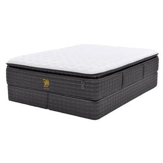 50th Anniversary Firm King Mattress Set w/Low Foundation by Carlo Perazzi