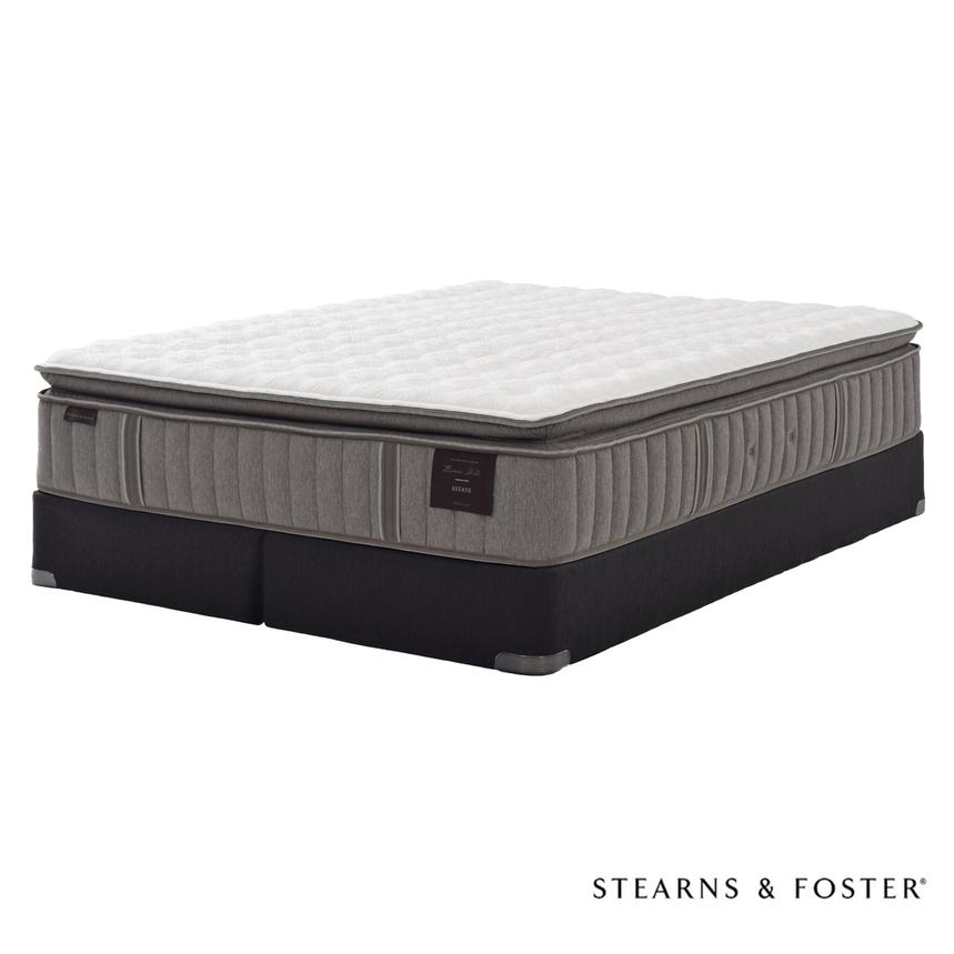 Oak Terrace IV King Mattress Set w/Regular Foundation by Stearns & Foster  main image, 1 of 5 images.