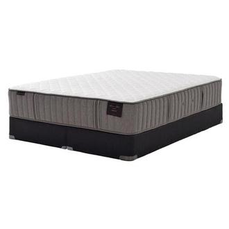 Scarborough III King Mattress Set w/Low Foundation by Stearns & Foster