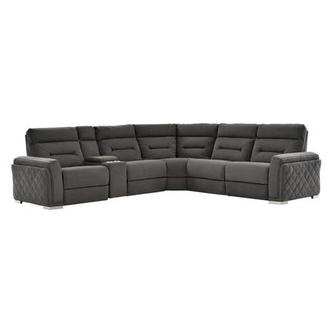 Kim Power Motion Sofa w/Right & Left Recliners