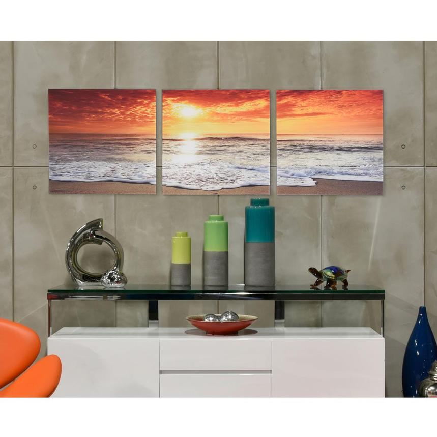 Mer Set of 3 Acrylic Wall Art  alternate image, 2 of 4 images.