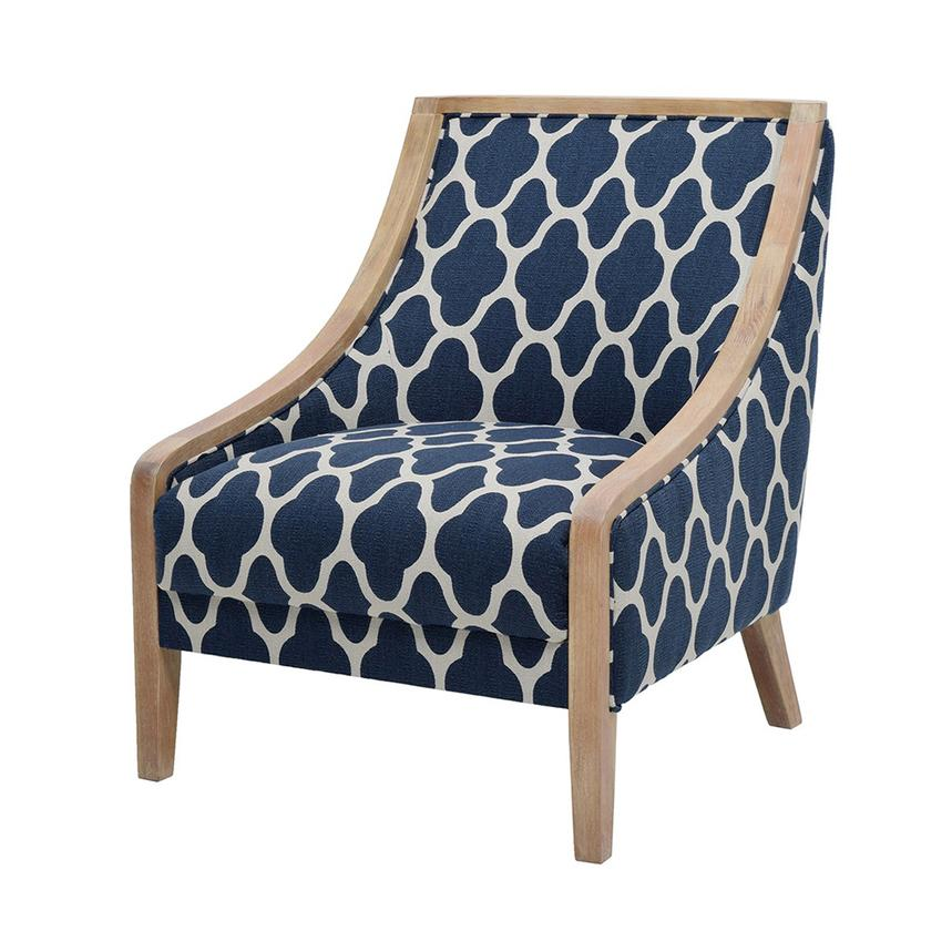 Gia II Blue Accent Chair  main image, 1 of 7 images.