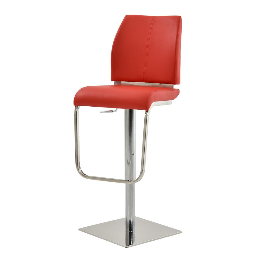 Maday Red Adjustable Stool  alternate image, 2 of 6 images.