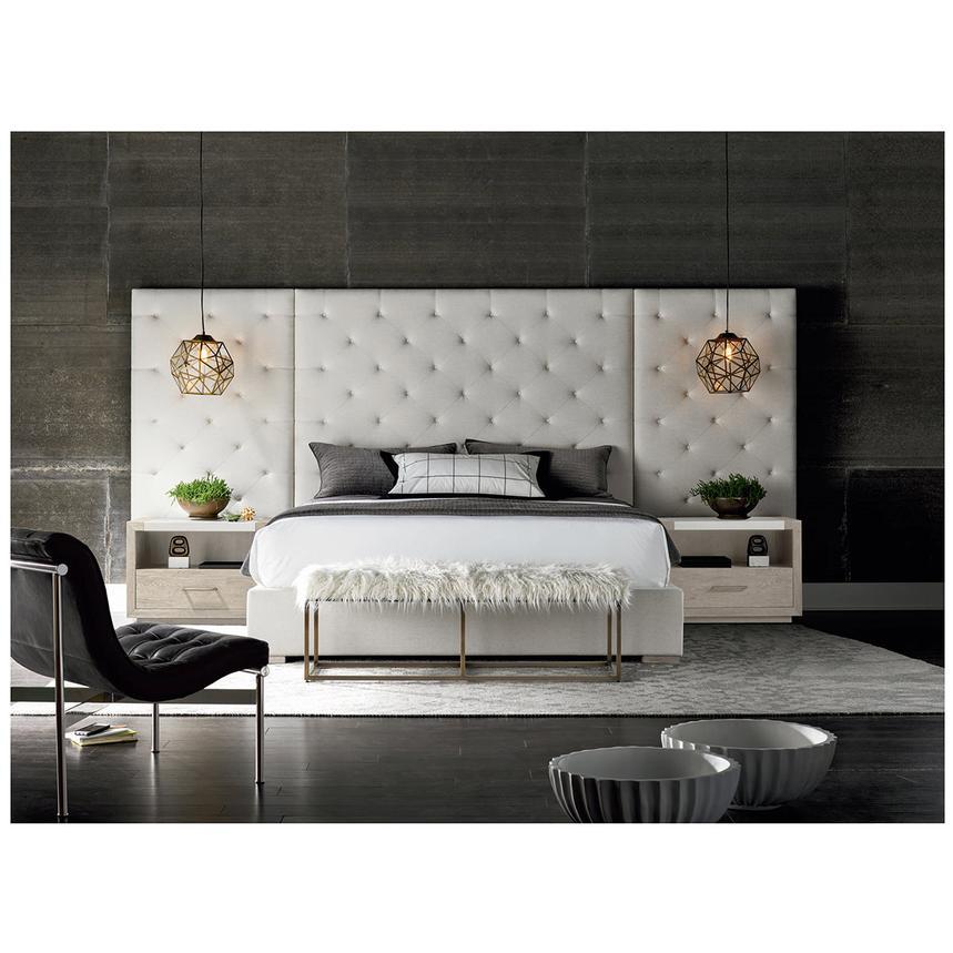 Modern Universe King Platform Bed W/Side Panels U0026 Nightstands Alternate  Image, 2 Of