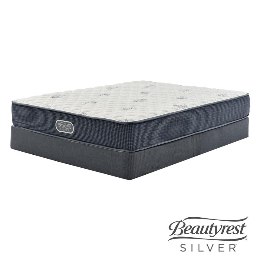 Pacific Heights Twin XL Mattress w/Low Foundation by Simmons Beautyrest Silver  main image, 1 of 5 images.