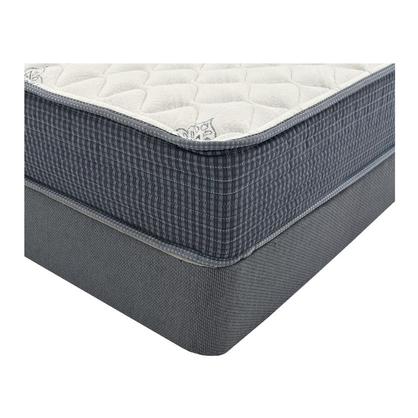 Pacific Heights Queen Mattress w/Regular Foundation by Simmons Beautyrest Silver  alternate image, 2 of 4 images.