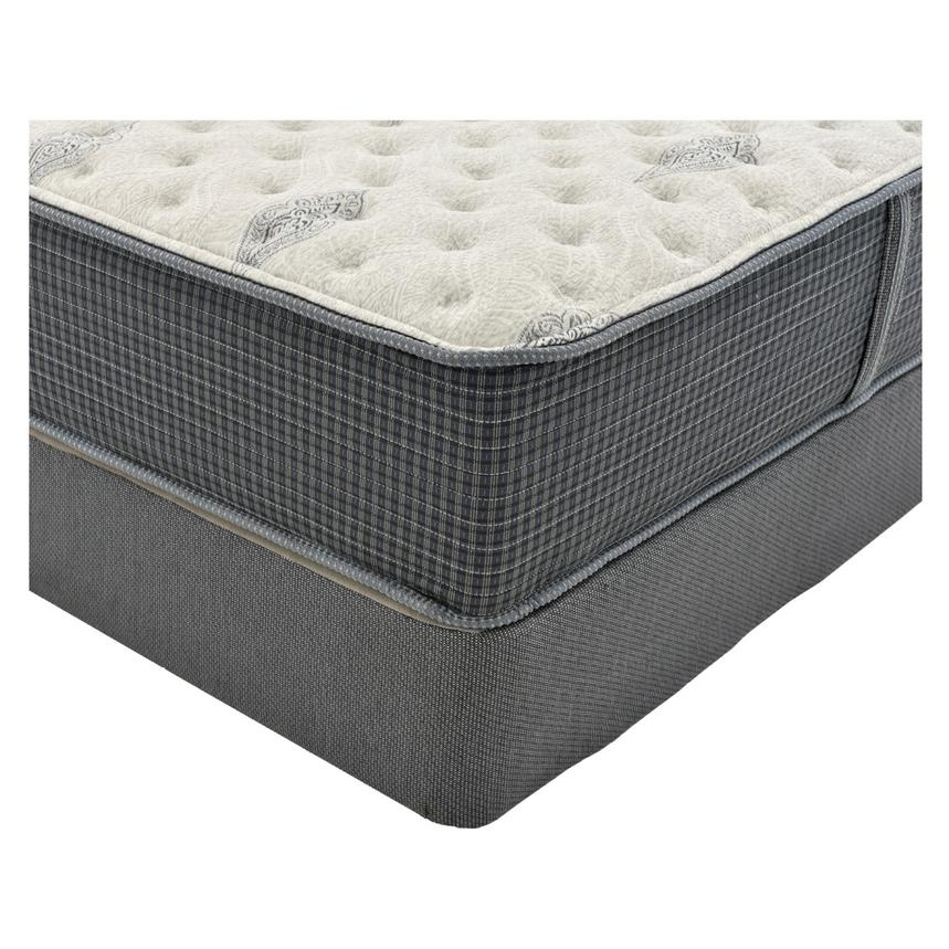Bay Point Queen Mattress w/Regular Foundation by Simmons Beautyrest Silver  alternate image, 2 of 5 images.