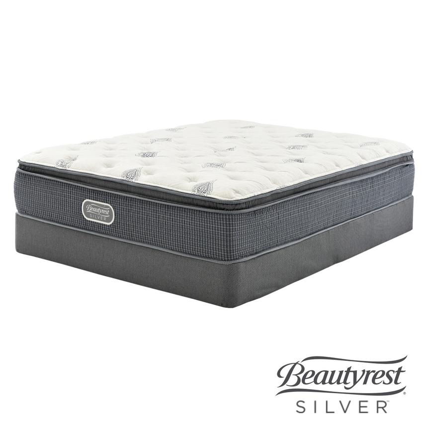 Pacific Heights PT Queen Mattress w/Low Foundation  main image, 1 of 5 images.