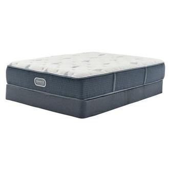 Bay Point Full Mattress w/Low Foundation by Simmons Beautyrest Silver