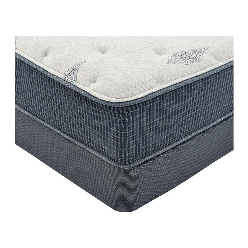 Bay Point Queen Mattress w/Low Foundation by Simmons Beautyrest Silver  alternate image, 2 of 4 images.