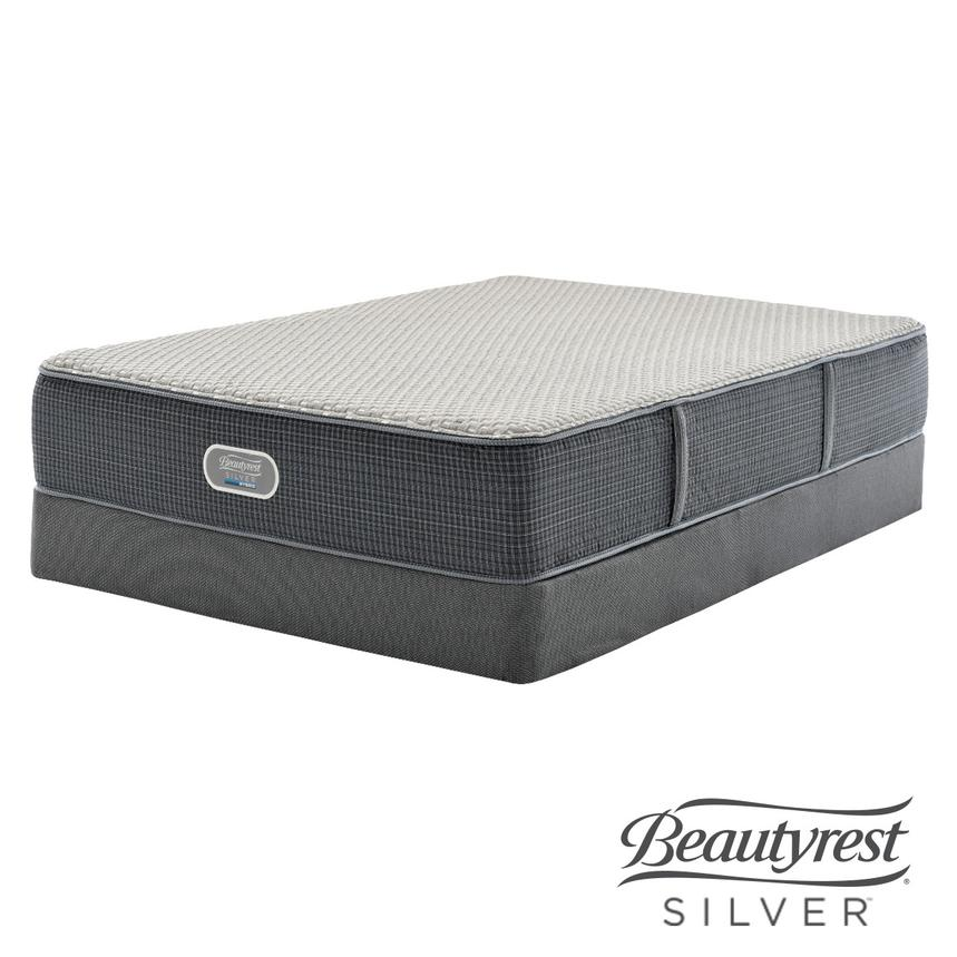 New London HB Twin XL Mattress w/Low Foundation by Simmons Beautyrest Silver  main image, 1 of 5 images.