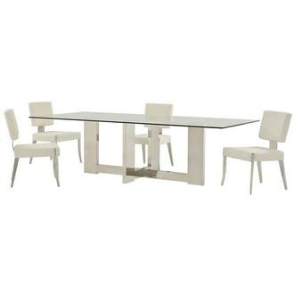 Opus/Tina 5-Piece Formal Dining Set