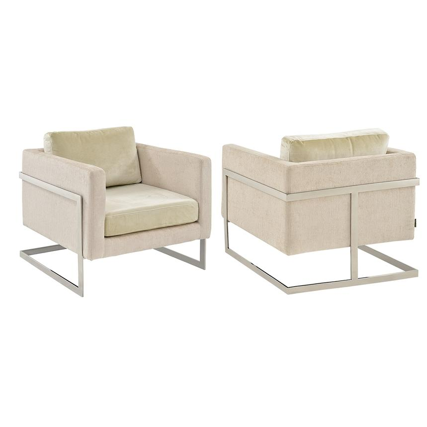 Innovative Cream Accent Chair Decoration Ideas